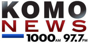KOMO News Radio 1000 AM / 97.7 FM logo